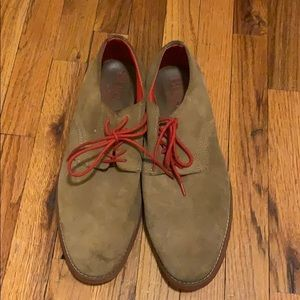 Men's causal suede shoes